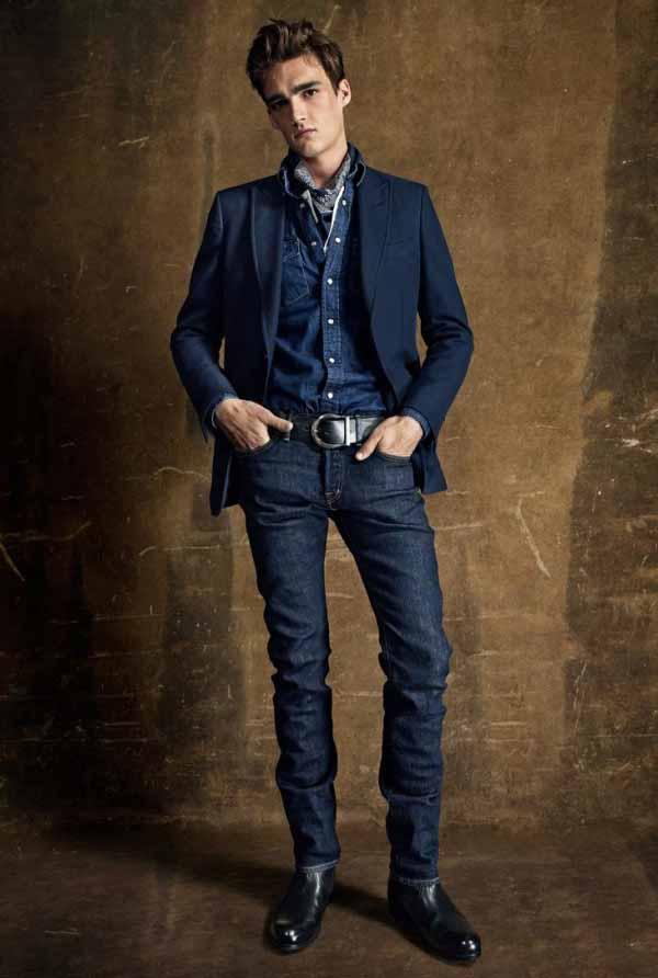 Коллекция мужской одежды Tom Ford 2015