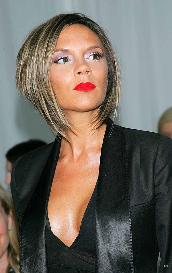 Лучшие прически Victoria Beckham