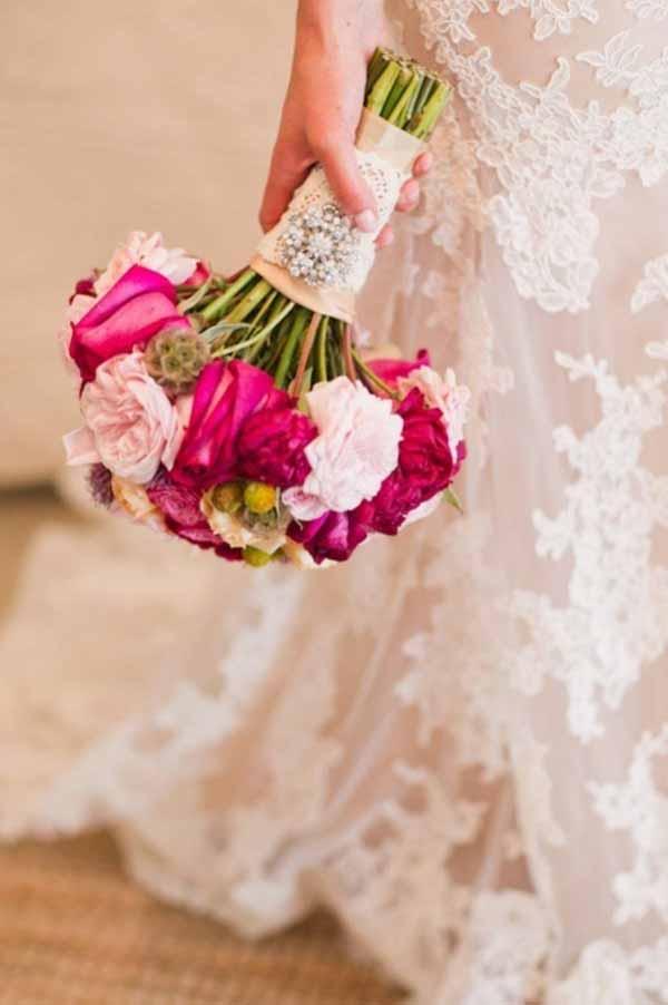 свадебный букет невесты 2013