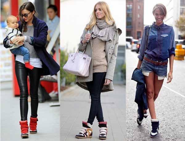 Кроссовки модные в 2017 году женские и с чем носить
