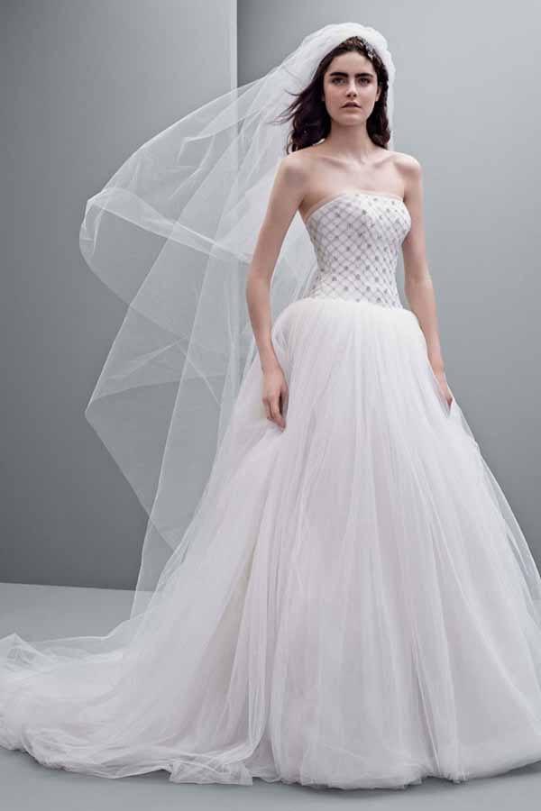 "Свадебные платья \""White\"" Vera Wang 2014"