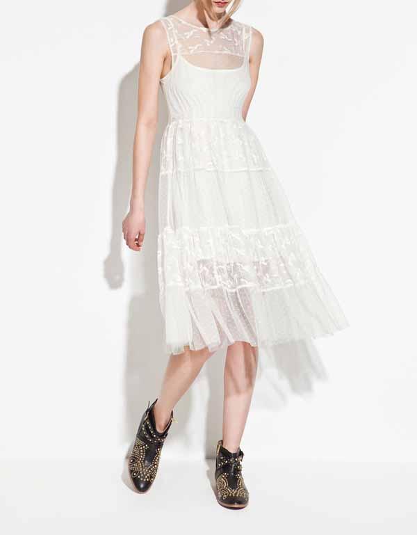 Платья на весну 2012 года от zara trf