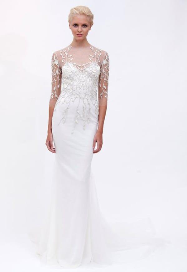 Свадебная коллекция MARCHESA весна-лето 2012