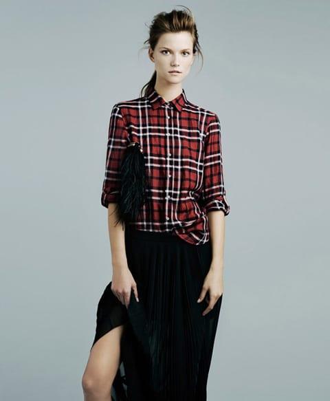 Zara. Женская коллекция ноябрь 2011