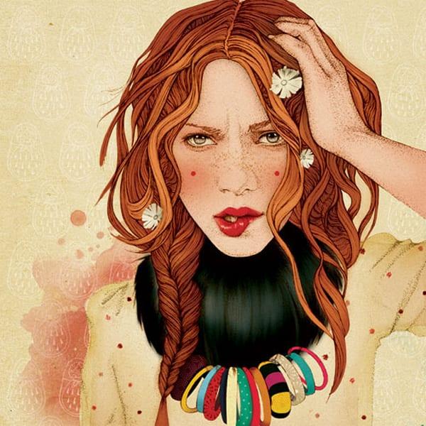 Иллюстратор Elodie Nadreau