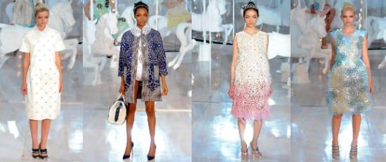 Louis Vuitton Коллекция весна-лето 2012