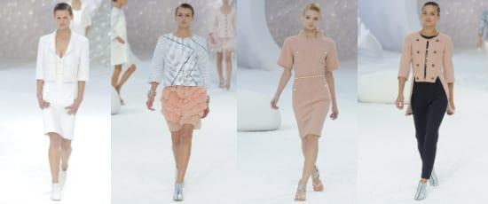 Chanel коллекция весна-лето 2012