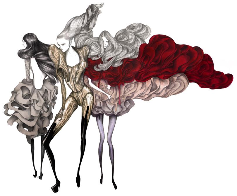 Иллюстратор Laura Laine