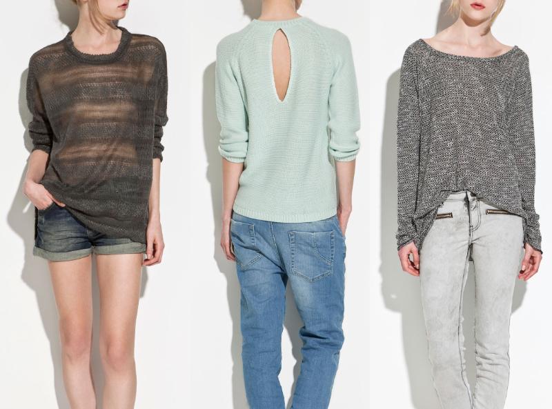 Новая коллекция Zara trf трикотаж