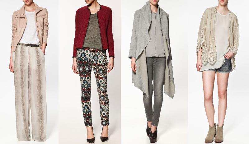 новая коллекция zara 2012