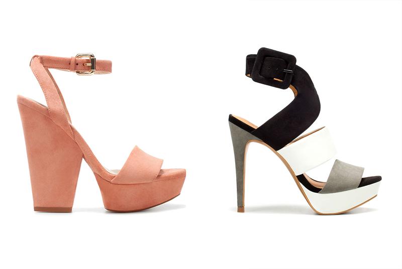 обувь zara коллекция весна 2012