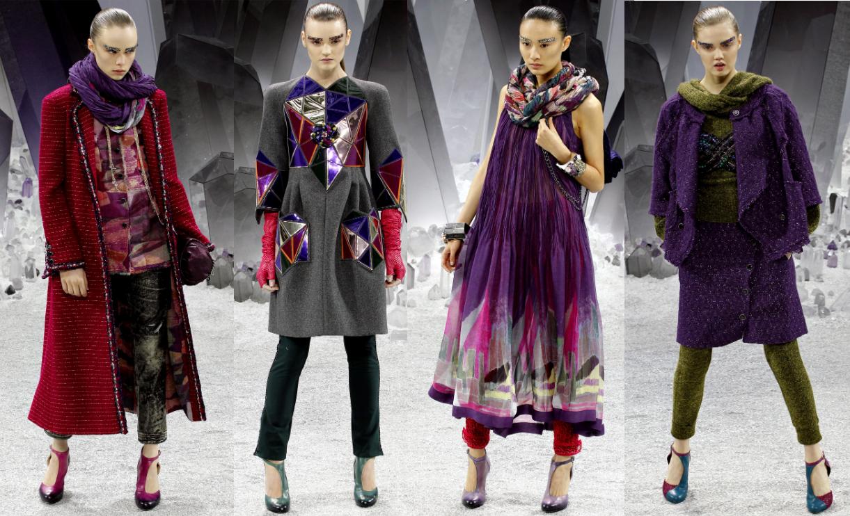 Коллекция Карла Лагерфельда для Chanel Fall Winter 2012-2013