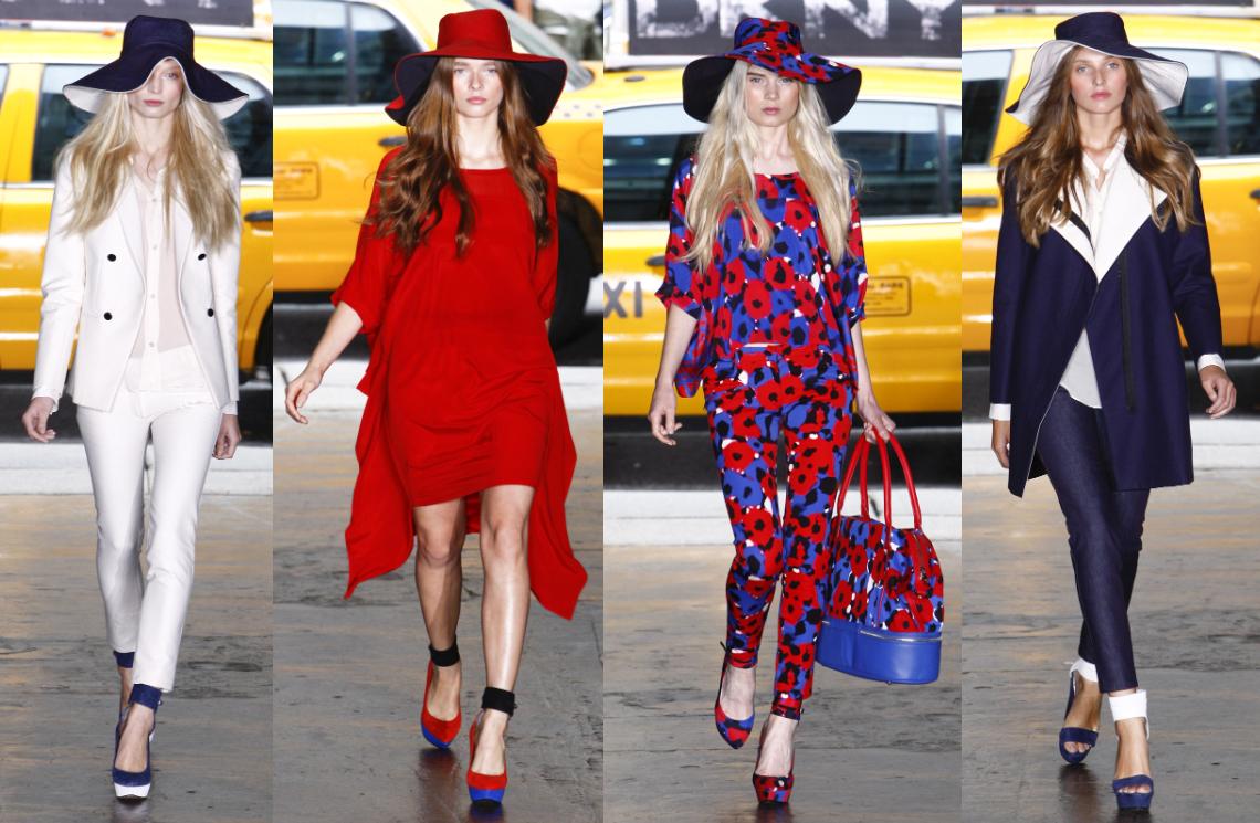 DKNY SS 2012 коллекция Ready-To-Wear