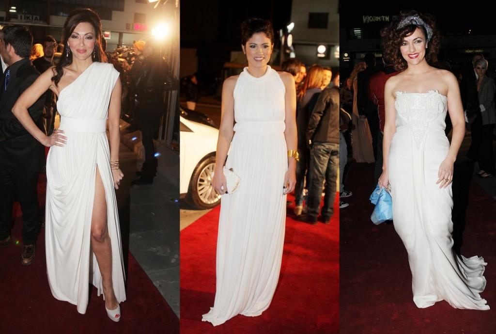 Платья в греческом стиле 2012