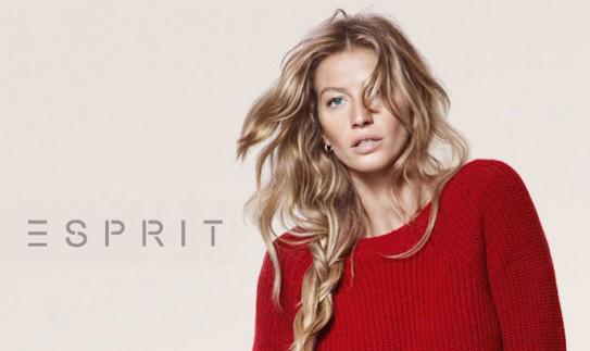 Gisele Bundchen в рекламной кампании одежды Esprit Fall-Winter 2012-2013