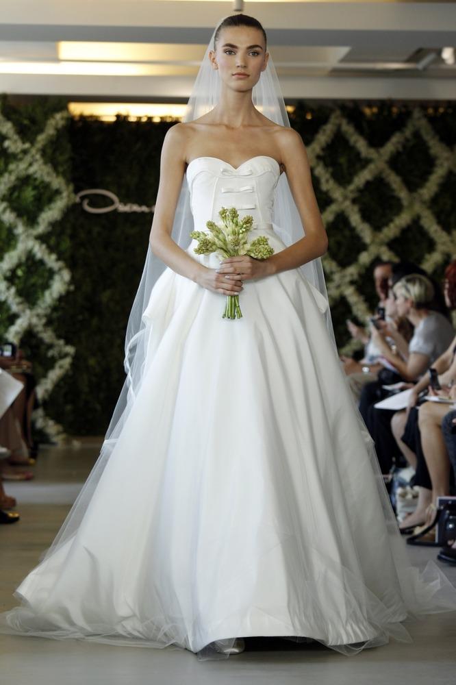 Oscar de la Renta bridal ss 2013