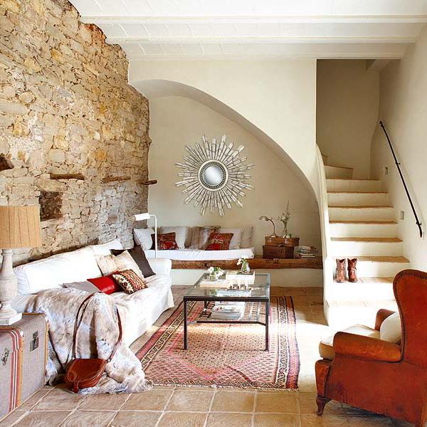 Умный дизайн лестницы для загородного дома
