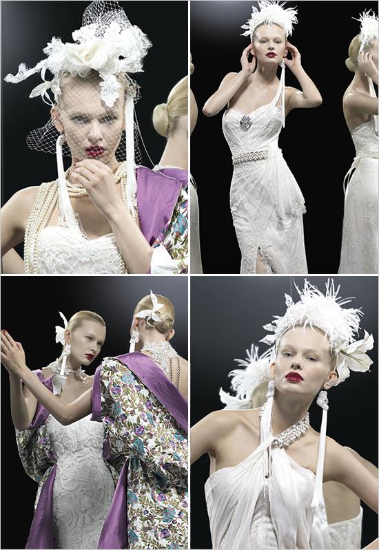 Новая Коллекция свадебных платьев Le Tre Grazie 2012 от Yolan Cris