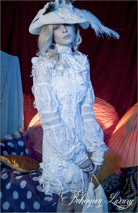 Yolan Cris Коллекция свадебных платьев 2012 года Bohemian Luxury