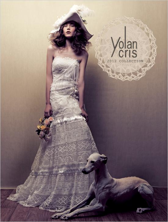 Yolan Cris Коллекция свадебных платьев 2012