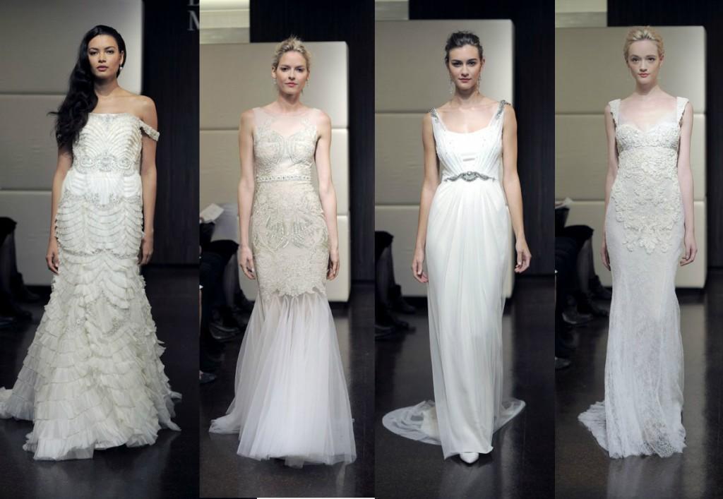 Badgley Mischka свадебная коллекция fall winter 2013