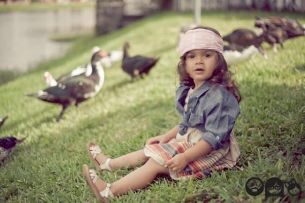 Нарядная детская одежда 2012 от Khloe`s Korner
