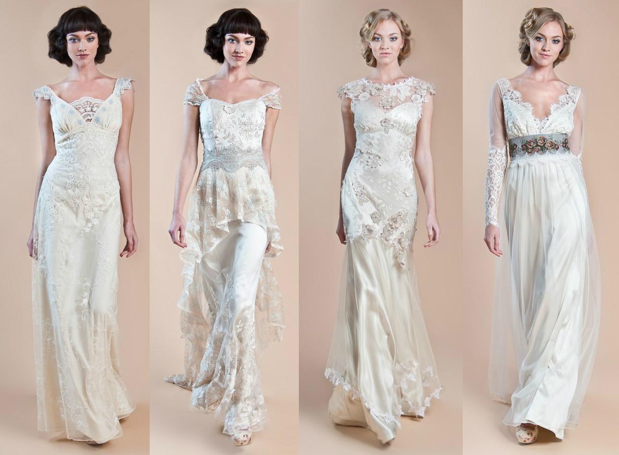 Свадебные платья в стиле ретро от Claire Pettibone Весна-Лето 2013