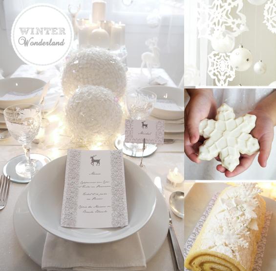 Новогодние идеи в белом цвете