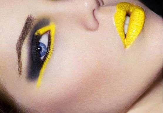 Подиумный макияж тренды Зима 2012-2013