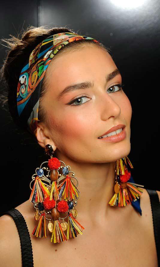 Косметика Dolce & Gabbana Look Весна-Лето 2013