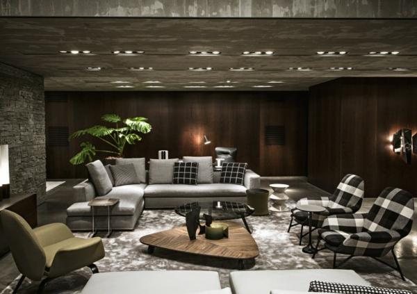 Стильная мебель в гостиную комнату
