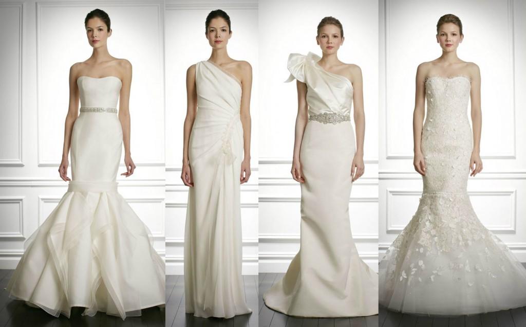 Новая коллекция свадебных платьев от Carolina Herrera Fall 2013