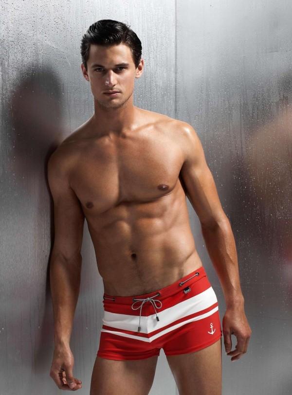 Мужская пляжная одежда от Simons Весна-Лето 2013