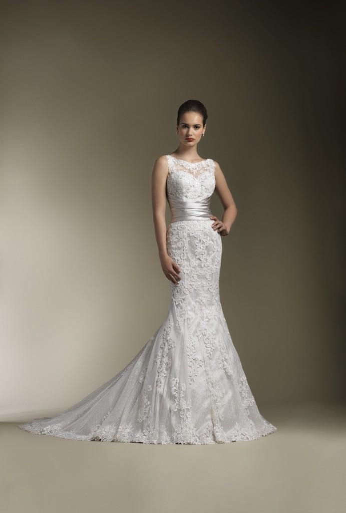 justin-alexander Самые модные свадебные платья 2013