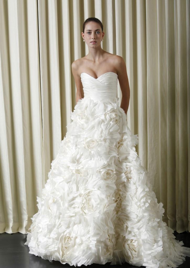 monique-lhullier Самые модные свадебные платья 2013