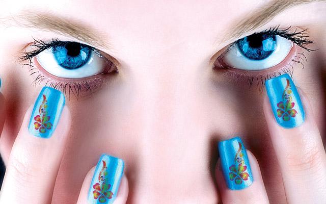 Дизайн ногтей 2013 года с подиумов мира