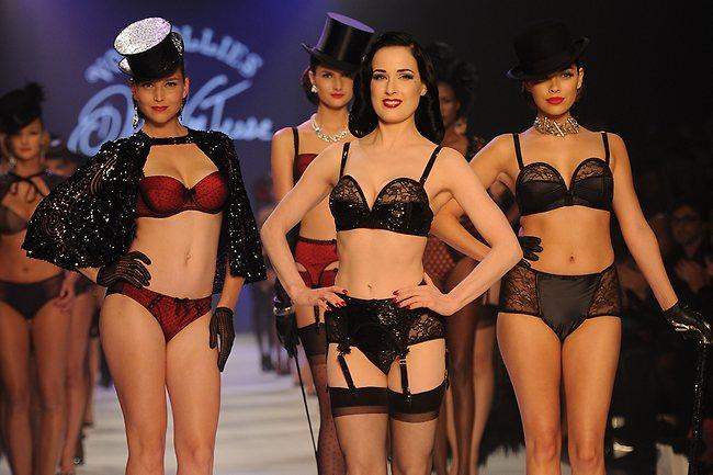 Красивое сексуальное нижнее белье Von Follies от Dita Von Teese