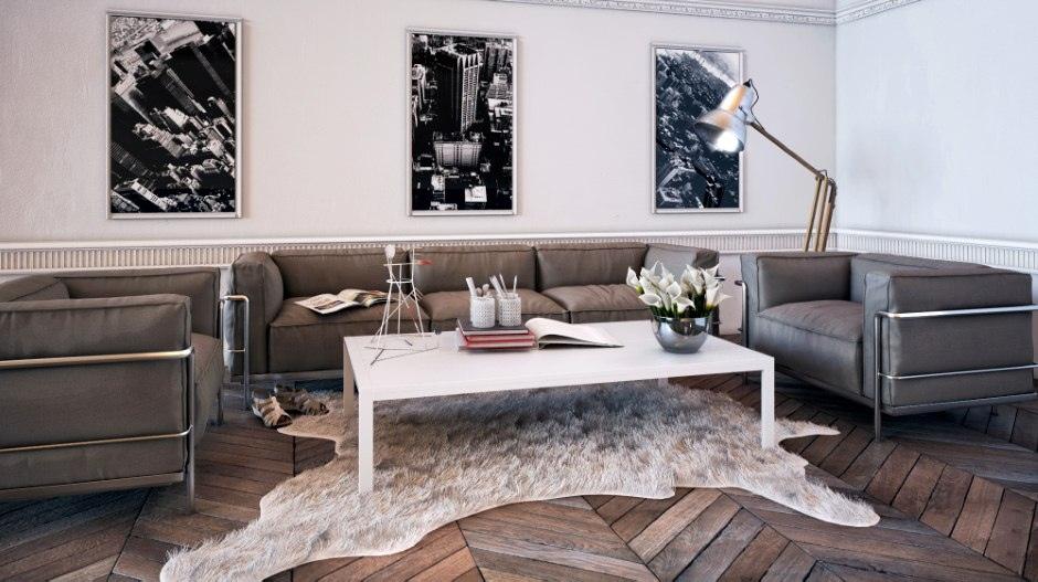 Примеры гостиных комнат в современном стиле