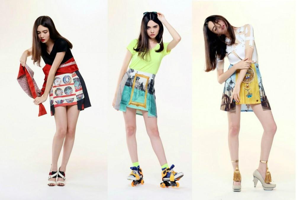 Мисс будущее в юбках с принтами от Fabitoria Весна-Лето 2013