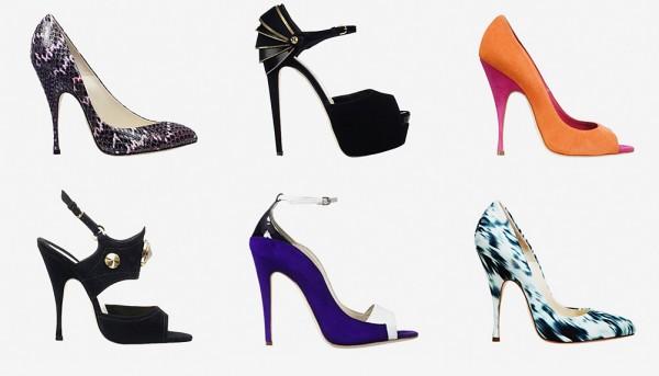 Женская обувь на высоком каблуке от Brian Atwood