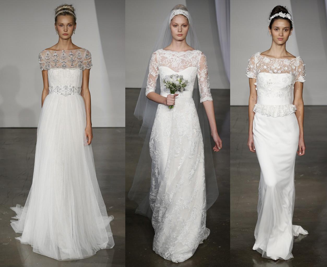 Свадебные платья Marchesa Коллекция Fall 2013