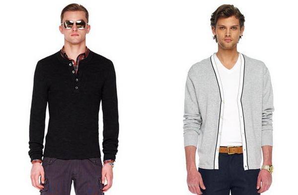 Модные модели мужских свитеров от Michael Kors 2013-2014
