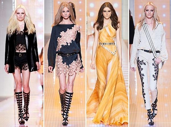 Модные прически этого лета вдохновленные Versace