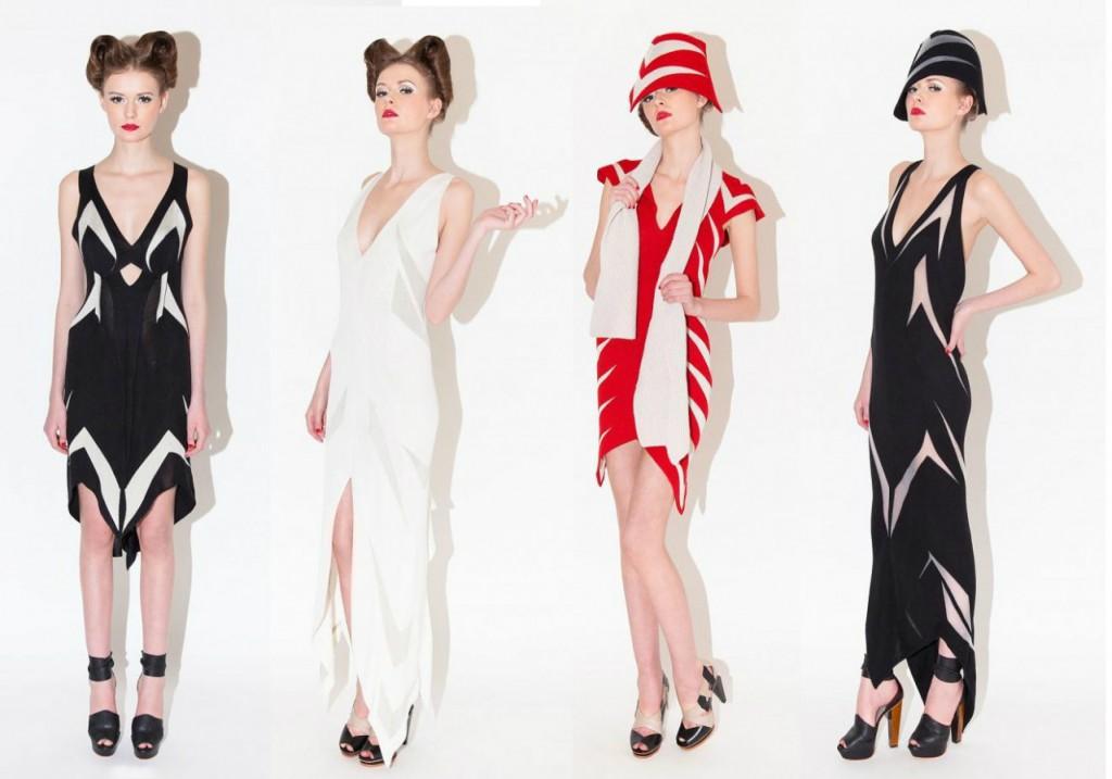 Женственные платья от Alice Palmer Осень-зима 2013-2014