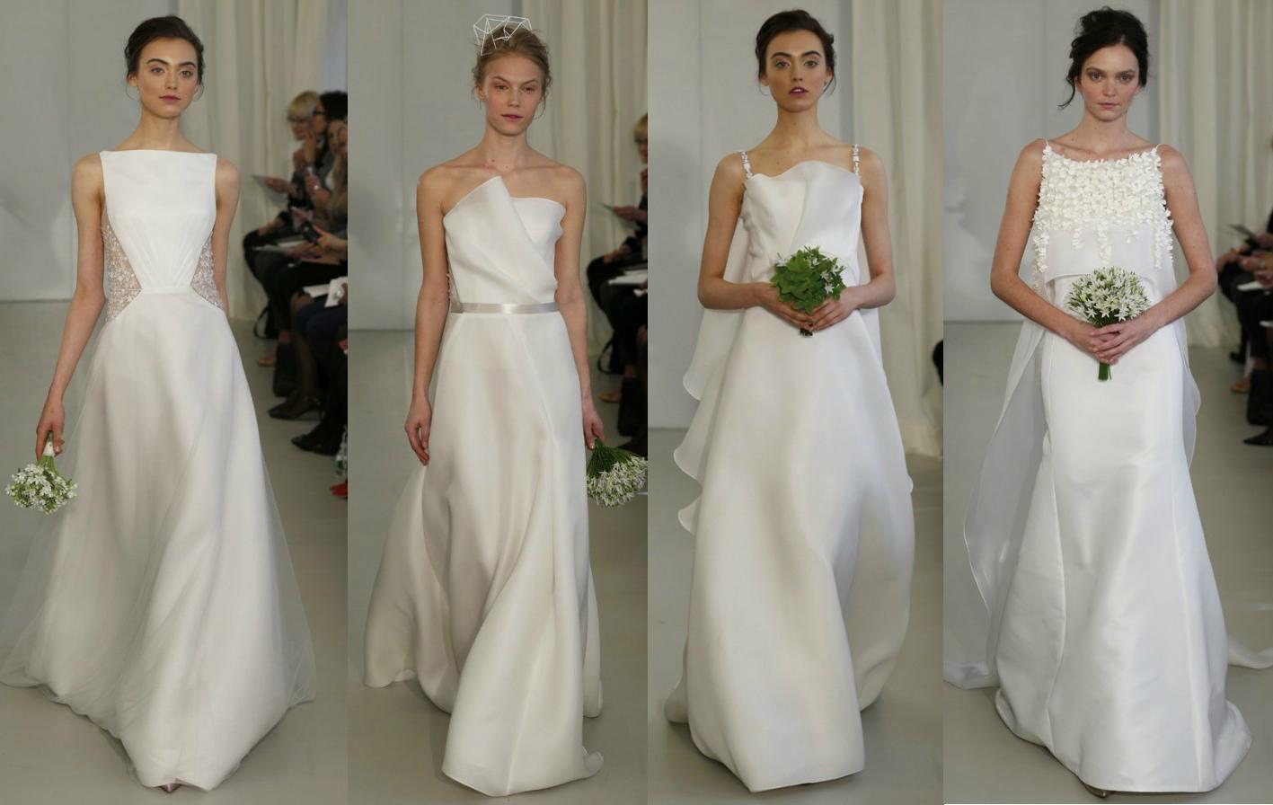 Дизайнерские свадебные платья от Angel Sanchez Весна-Лето 2014