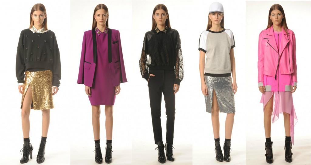 Коллекция Женской Одежды DKNY Resort 2014
