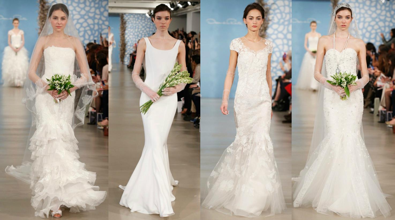 Свадебные платья Oscar de la Renta Весна-Лето 2013
