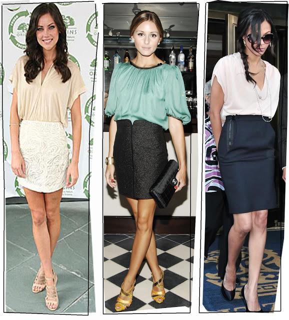 Модные юбки карандаш 2013 с подиумов