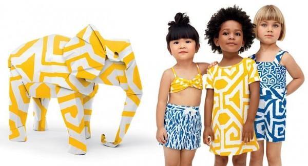 Детская одежда Gap от Diane von Furstenberg на весну-лето 2013
