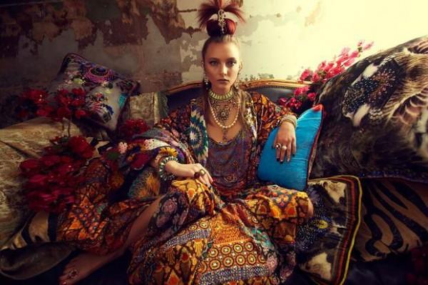 Восточный стиль в одежде от Camilla Осень-Зима 2013-2014